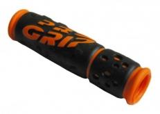 Chwyty rączki rowerowe 953 żel pomarańcz box