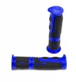 Chwyty rączki rowerowe 964 żel niebieski box