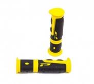 Chwyty rączki rowerowe 964 żel żółty box