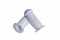 Chwyty rączki rowerowe grzybek 95mm biały