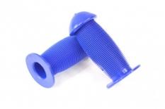 Chwyty rączki rowerowe grzybek 95mm niebieski