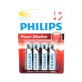 Philips bateria r6 aa alk 1,5v krt