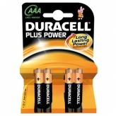 Bateria duracell plus power lr3 aaa 4szt
