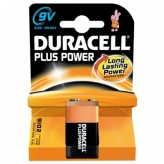 Bateria duracell plus power 6lr61 9v