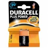 Bateria duracell plus power 6lr61 9v
