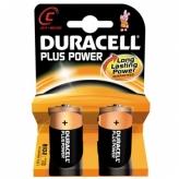 Bateria duracell plus power lr14 c 2szt