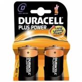 Bateria duracell plus power lr20 d 2szt