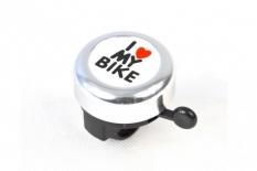 Dzwonek my bike srebrny