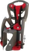 Fotelik rowerowy Bellelli Pepe clamp na bagażnik szary