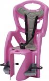 Fotelik rowerowy Bellelli Pepe na wspornik różowy