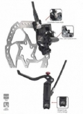 Hamulece hydrauliczne Promax dsk-909am