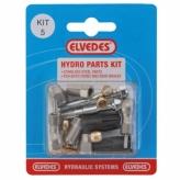 Zestaw naprawczy do hamulców hydraulicznych shimano m666, m675, m785 elvedes set 5