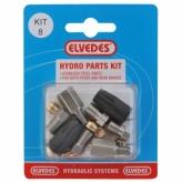 Zestaw naprawczy do hamulców hydraulicznych magura mt2 elvedes set 8