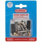 Zestaw naprawczy do hamulców hydraulicznych magura mt4 / 5 / 5e / 6 / 7 / 8 elvedes set 7