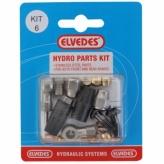 Zestaw naprawczy do hamulców hydraulicznych formula mega / r-r1 elvedes set 6