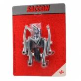 Hamulec szczękowy V-brake Saccon FV96 srebrny