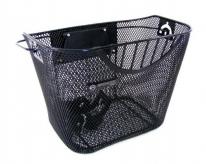 Koszyk rowerowy przedni czarny QR 35x25x26 cm Spencer