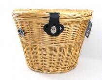 Koszyk rowerowy przedni wiklinowy zamykany qr Spencer