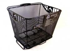 Koszyk rowerowy na bagażnik 35,5x26,5x28,5 Spencer głęboki