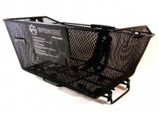 Koszyk rowerowy na bagażnik siatka 40,5x29,5x20,5 cm na klik Spencer
