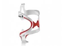 Koszyk bidonu Ibera ib-bc12 biały-czerwony