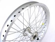 """Koło rowerowe przednie 20"""" alu bmx 48-otw srebrne"""