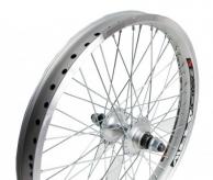 Koło rowerowe tylne 20 alu BMX 48-otw srebrne