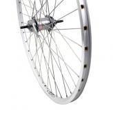 Tylne koło rowerowe 28'' srebrne, nexus 3 z hamulcem nożnym