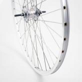 Tylne koło rowerowe 28'' srebrne,nexus 3, hamulec rolkowy