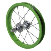 Przednie koło rowerowe lief 12'' ciemno-zielone