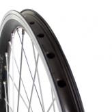 Koło rowerowe przednie merkloos 24'' x 1.75 czarne