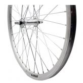 Koło rowerowe przednie merkloos 24'' x 1.75 srebrne