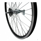 Koło rowerowe tylne merkloos 24'' x 1.75 czarne