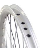 Koło rowerowe tylne merkloos 24'' x 1.75 srebrne