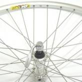 Koło rowerowe przednie merkloos 28'' zac19 srebrne