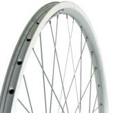 Koło rowerowe przednie merkloos 28'' wysoka felga srebrne