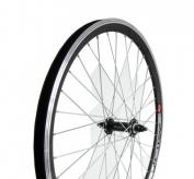 Koło rowerowe przednie 24 cale stożek czarne
