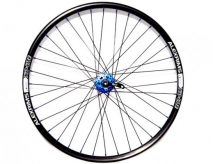 Koło rowerowe przednie 26 cali Q-lai blue