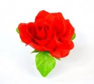 Kwiat na kierownicę róża czerwona