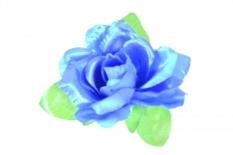 Kwiat na kierownicę róża niebieska