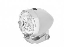 Lampka przednia 3 LED Retro biała