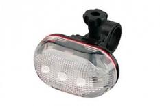 Lampka rowerowa przednia 5 LED baterie