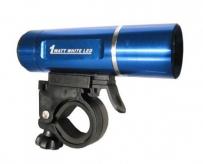 Lampka rowerowa przednia 1 wat led xc-774 niebieska