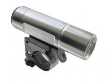 Lampka rowerowa przednia 1 wat xc-774 srebrna