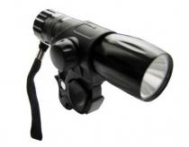 Lampka rowerowa przednia 1 watt led xc-768 czarna