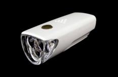 Lampka rowerowa przednia 3 LED baterie  biała