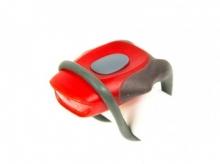 Lampka rowerowa przednia 2 led, jy-267 czerwona