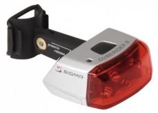 Lampka rowerowa tylna Sigma Cuberider baterie srebrna