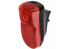 Lampka rowerowa tylna LED błotnik  baterie