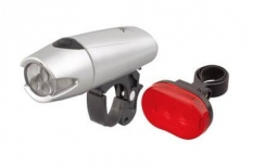 Lampki rowerowe 5 led, xc758 + xc305
